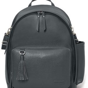 Skip Hop Greenwich diaper bag backpack - Smoke